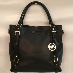 Michael Kors Large East-West Bedford Leather Satch